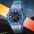 X-GEAR Cool Men's Stainless Steel Electronic Quartz Watch Large Dial Waterproof Watch MOQ 20pcs 3