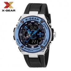X-GEAR Business Watch Waterproof Electronic Quartz Watch MOQ 20PCS