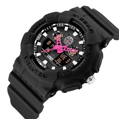 X-GEAR Fashion Student Watch Children Women's Waterproof Digital Watch Outdoor Watch Multifunction Sports Watch