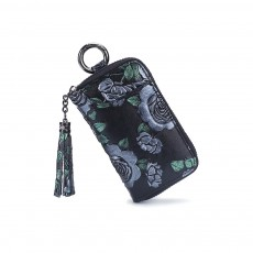 Car Lock Large-capacity Key Bag Ladies Exquisite Multi-function Compact Fashional Hand-painted Clutch