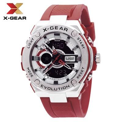X-GEAR Electronic Sports Outdoor Watch Waterproof Electronic Quartz Watch MOQ 20PCS