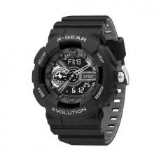 Simple Digital Electronic Watch Fashion Waterproof Watch Black