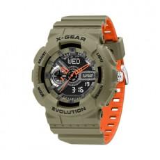 ArmyGreen Waterproof Sports Watch Multi-function Electronic Watch