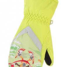 Creative Children's Ski Gloves Children's Winter Warm Cartoon Gloves for 6-8 Years Old