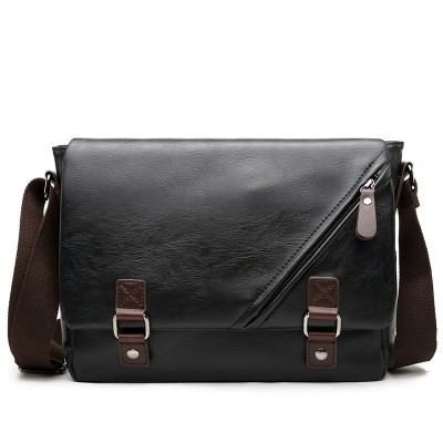 Shoulder Bags Men's Leather Bags Messenger Bags Fashion Briefcases All-match Envelope Bags For Male