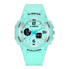X-GEAR Fashion Sports Outdoor Luminous Watch Multifunctional Popular Swimming Electronic Waterproof Watch
