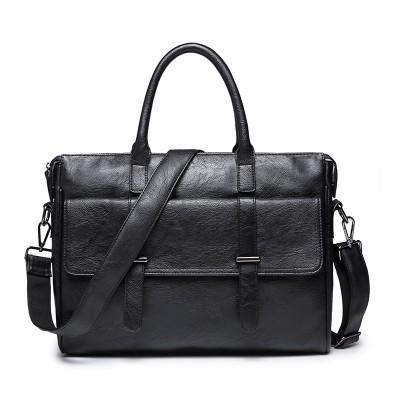 Portable Postman Casual British Official Document Retro Trend Travel Men's Computer Bag Shoulder Messenger Bag