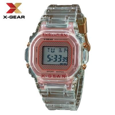 X-GEAR Cool Square Simple Digital Electronic Watch MOQ 20PCS