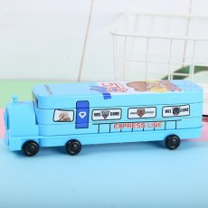 Locomotive Stationery Box Creative Stationery Primary School Students Double-layer Stationery Box Thomas Pencil Box Student Prize
