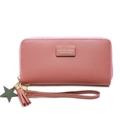 Silk-printed Women's Clutch Bag Long-length Women's Wallet Large-capacity Wallet