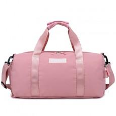 Large Capacity Shoe Duffel Bag Dry And Wet Separation Yoga Bag Shoulder Gym Bag Sequined Letter Sports Bag
