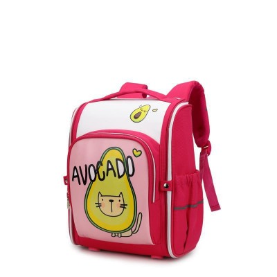 Primary School Bag Female Student Cute All-in-one Schoolbag Spine Relief Child Schoolbag
