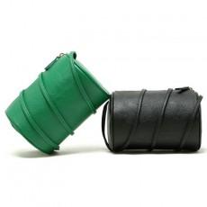 2020 New PU Retro Small Cylinder Bag Shoulder Messenger Bag Fashion Pillow Bag