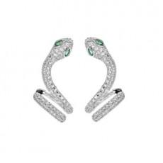 Snake-shaped Earring For Female Design Sense Earring Stud New Fashion Ear Bone Clip Personality Earring  MOQ 1 SET