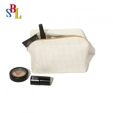 Trendy Style Hand-carrying Cosmetic Bag Rectangular Ladies Cosmetic Bag Banquet Bag With Custom Logo