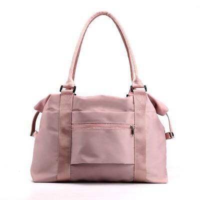 All-match Casual Bag Travel Shoulder Bag Female Bag Large Capacity Portable Fitness Bag For Ladies