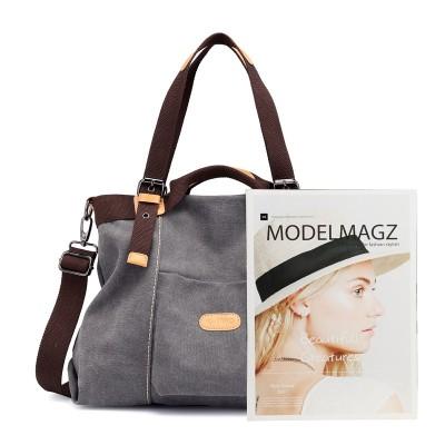 Fashion Canvas Bag Women Retro Casual All-match One-shoulder Messenger Bag For Ladies
