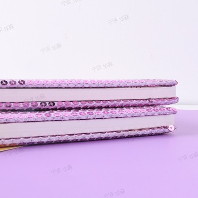 Stationery Mermaid Sequin Notebook Assembly Book Creative Cartoon Notepad Custom