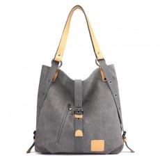 Canvas Handbags Multifunctional Ladies Handbags Large Capacity Ssingle Shoulder Handbags For Women
