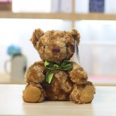 Ribbon Bear Plush Toy Doll Bow Tie Teddy Bear Catch Machine Doll Children's Valentine's Day Gift