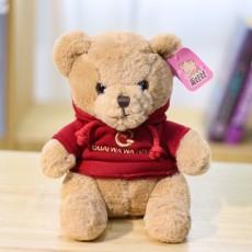 Cute Rabbit Fur Sweater Bear Plush Toy Doll Holiday Birthday Children's Gift Dolls For Girls