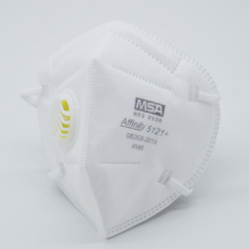 MSA Affinity 5121+ KN95 Protective Mask with Valve Individually Packed 15PCS/Box