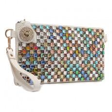 Diamond Explosive Clutch Color Diamond Dinner Clutch Shoulder Messenger Bag Female Chain Bag