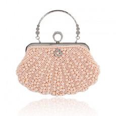Popular Spot Boutique Dinner Bag Pearl Dress Bag Wedding Bag Hand Shoulder Diagonal Female Bag