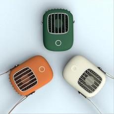 Hanging Neck Fan Travel Sports Outdoor Portable Mini Desktop Small Fan Creative USB Pocket Fan MOQ 1 PCS