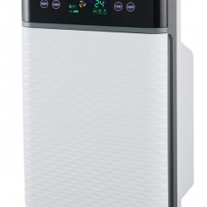 Intelligent outlet air purifier air quality monitoring