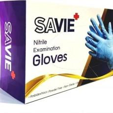Savie Disposable Nitrile Gloves Powder-free Non-Sterile 100 PCS/Box