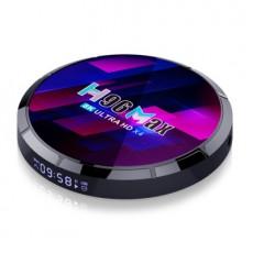 H96 Max S905X4 Tv Box 4G+32G Android 10.0 Dual-band WIFI 8K Network Player
