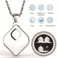Hot style Gift Necklace H3 Anion Hanging Nockneck Portable Antisecondhand Smog PM2.Bacteria 5 Air Purifier MOQ 1PCS