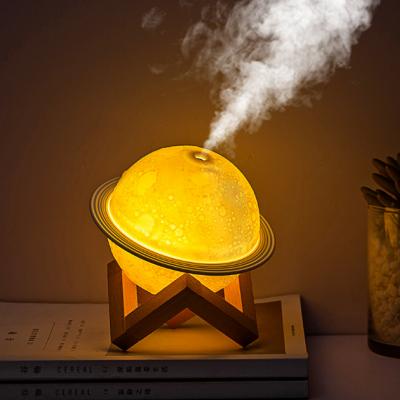 Planet humidifier eye protection night light 3D moon lamp air purification humidifier