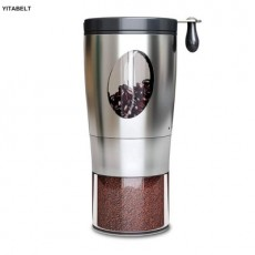 Foldable Coffee Grinder Stainless Steel Manual Coffee Bean Grinder Kitchen Tool