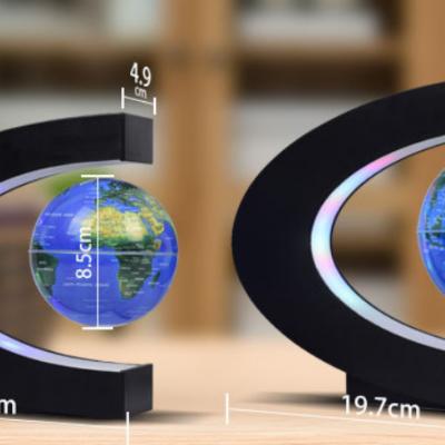 C-shaped Magnetic Levitation Globe Creative Home Decoration Gift Birthday Gift MOQ 1PCS
