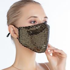 Sequin pure cotton sunscreen mask for dust prevention, haze and ventilation 10pcs