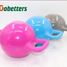 Yoga Water Bottle Bell Double Ear Handle Exercise Equipment Pilates Yoga Shape Dumbbells MOQ 1PCS