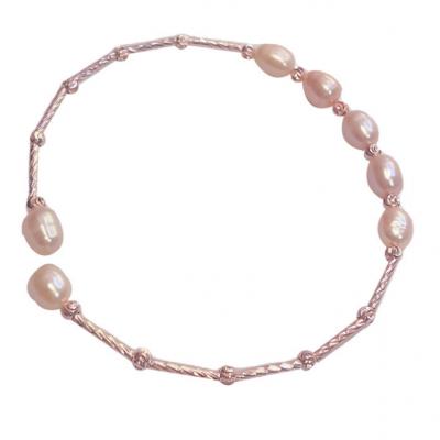 Natural freshwater pearl bracelet women's fashion simple classic temperament Bracelet