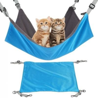 Outdoor Cat And Dog Small Double Decker Pet Camp Bed Cat Hanging Bed Cat Hammock 1PCS