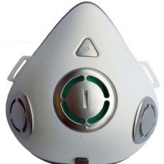 Electronic mask kn95 anti haze riding electric mask with breathing valve