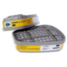 3M 6002CN Gas Filter Box Anti-acid Gas Chlorine Dioxide Sulfide Chlorine Gas Mask Accessories 2PCS