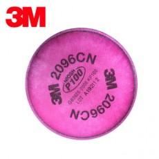 3M 2096CN P100 Acid Gas Odor Particulate Matter Filter Cotton 2PCS