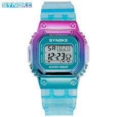 Synoke Fashion Chameleon Electronic Watch Hot Selling for Male and Female Students