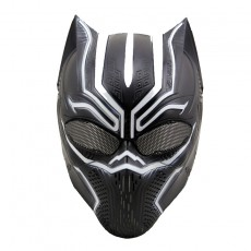 Black Panther Skull Mask CS Field Protective Halloween Cosplay Ball Mask