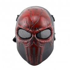 Punisher Scary Skull Mask Ears Protective Mask Real Man Field Protection Mask