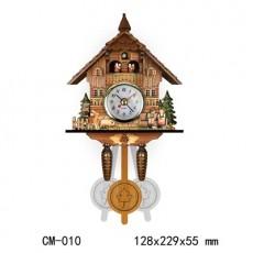 Retro Nordic Style Cuckoo Clock Cuckoo Wall Alarm Clock Home Decoration Accessories for Living Room