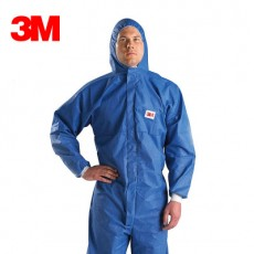 3M 4532 Protective Clothing Anti-radiation Particles Chemical Protection Clothing Spray Paint Clothing Dust-proof Clothing Blue