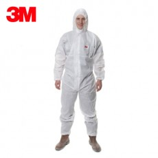3M 4515 White Hooded One-piece Protective Clothing, Spray Paint, Dustproof Clothing, Breathable Overalls, Anti-liquid Limited Splash
