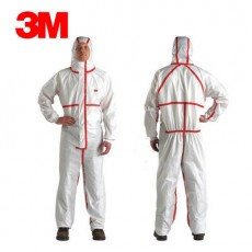 3M 4565 Protective Clothing One-piece Full-body Disposable Isolation Clothing Experimental Spray Paint Hooded Dustproof Clothing